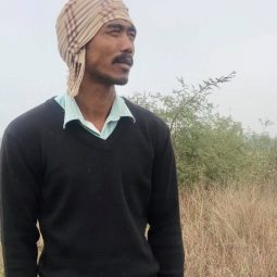 Migrant worker-turned-farmer, Hari Narayan Rana.